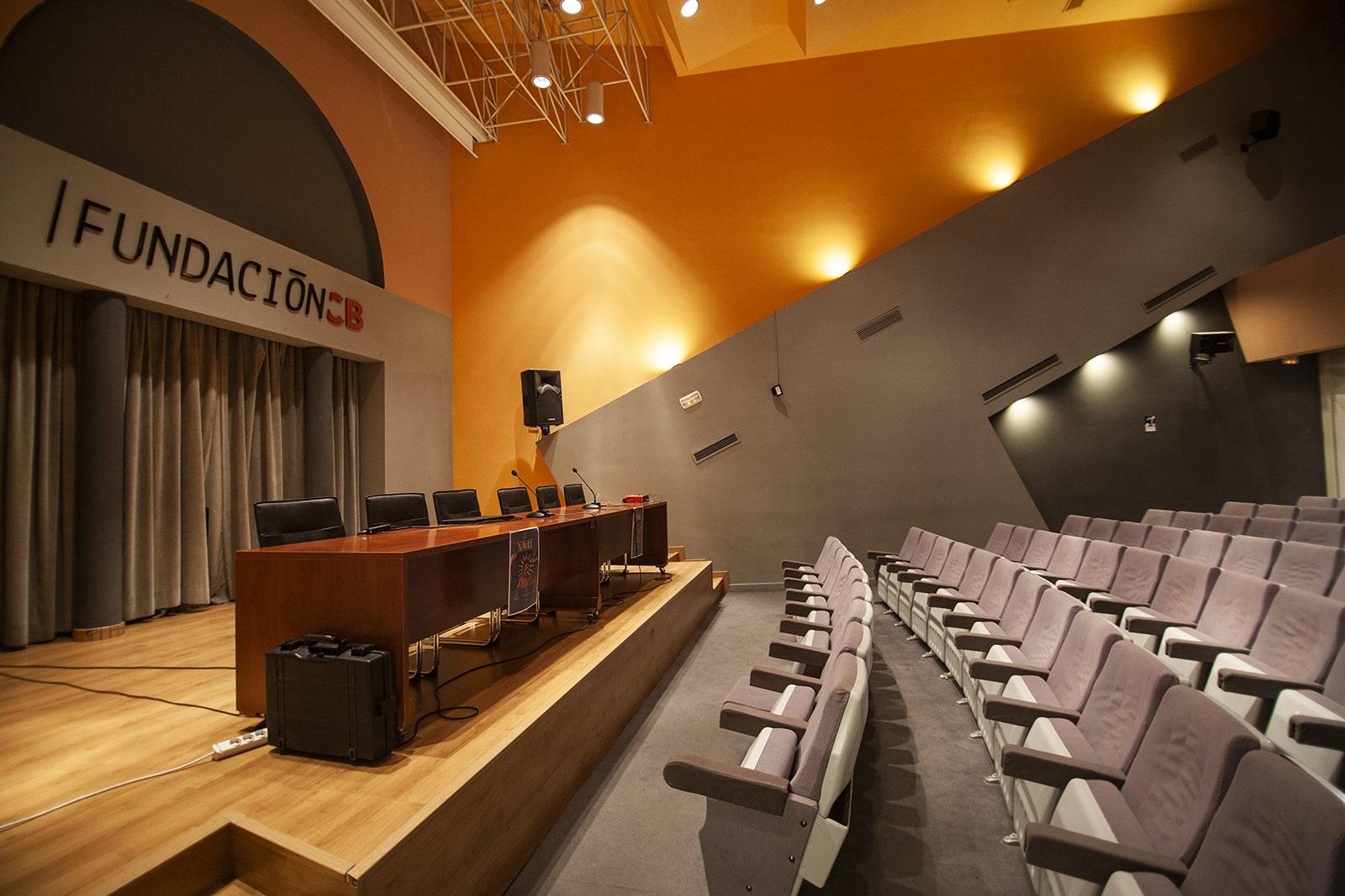 Centro Cultural 'Santo Domingo': Salón de actos