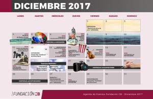 AGENDA FCB diciembre 2017