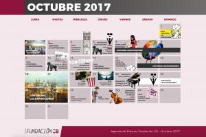 Agenda FCB Octubre 2017
