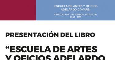 CARTEL ESCUELA ARTE Y OFICIO A3 FUNDACION CB