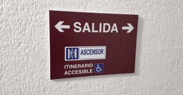 cartel acceso